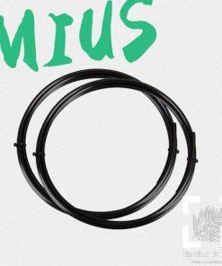 Ống dây dẫn nước RO MIUS Thông tin sản phẩm : Xuất sứ : Hàng chính hãng Mius Dây dẫn nước RO chuyên dụng , dây size ¼ (hoặc gọi là size 2), đường kính ống xấp xỉ 6mm. Hướng dẫn sử dụng: Sử dụng trong các bộ lọc nước RO, máy bơm phun sương...