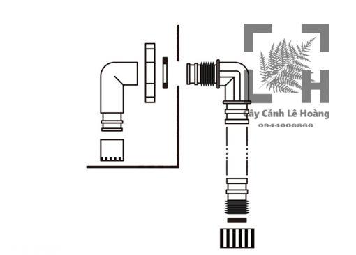 🌺Sử dụng ống thoát đáy Mius chính hãng các bạn sẽ được những gì so với hàng khác ? 🌋 Thay bể sạch sẽ và dễ dàng hơn bao giờ hết . 🌋 Độ bền hơn gấp 5-7 lần. 🌋 Không rò rỉ nước ở phần zoăng .